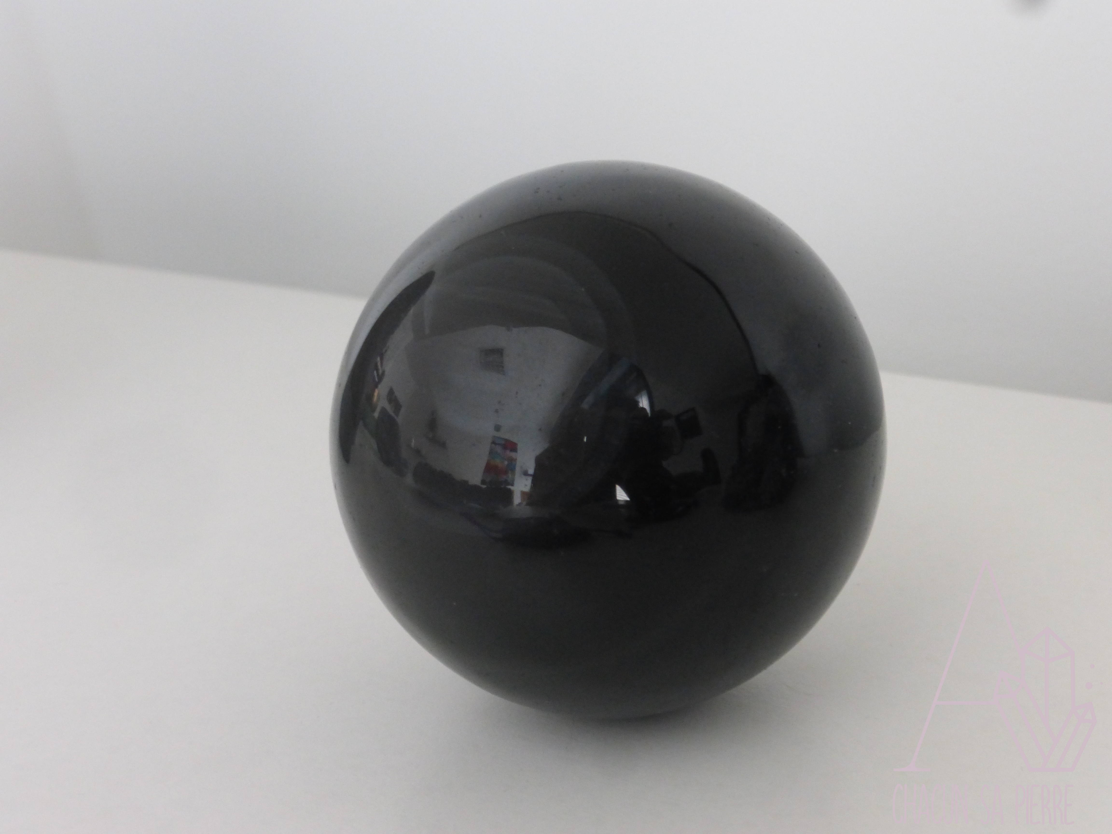obsidienne oeil c leste boule 5cm a chacun sa pierre. Black Bedroom Furniture Sets. Home Design Ideas